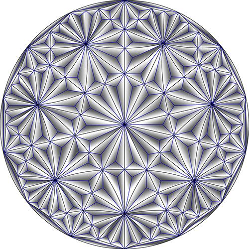 Rosette Chip Carving Pattern 64 #Middle Beginner Carver