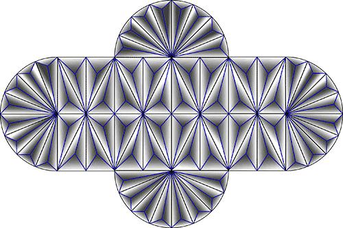 Rosette Chip Carving Pattern 49 #Junior Carver