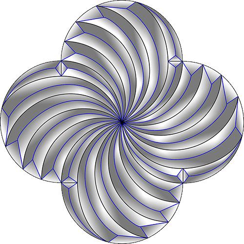 Rosette Chip Carving Pattern 52 #Beginner Carver