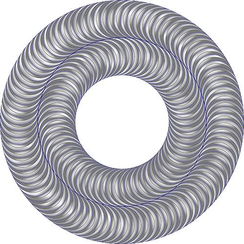Rosette Chip Carving Pattern 53 #Middle Beginner Carver