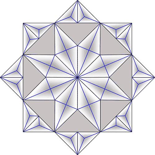 Rosette Chip Carving Pattern 43 #Junior Carver
