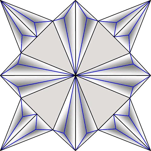 Rosette Chip Carving Pattern 45 #Junior Carver
