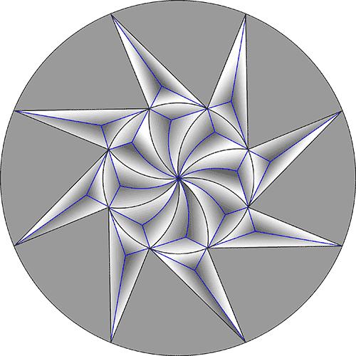 Rosette Chip Carving Pattern 46 #Beginner Carver