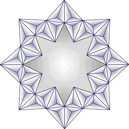 Rosette Chip Carving Pattern 48 #Junior Carver