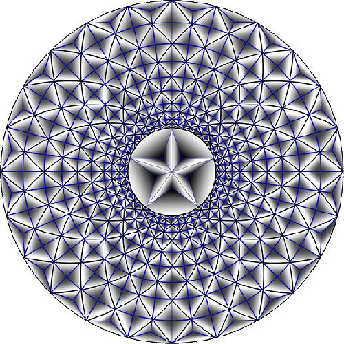 Rosette Chip Carving Pattern 26 #Advanced Beginner Carver