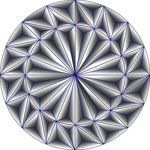 Rosette Chip Carving Pattern 5 #Middle Beginner Carver
