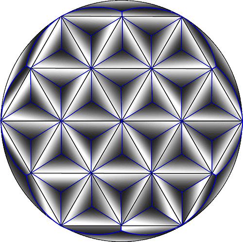Rosette Chip Carving Pattern 7 #Middle Beginner Carver