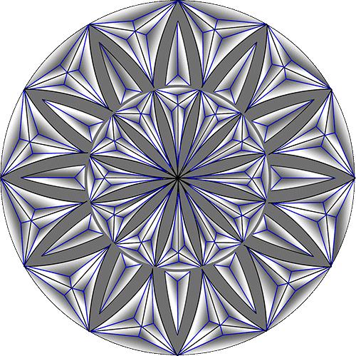 Rosette Chip Carving Pattern 27 #Advanced Beginner Carver
