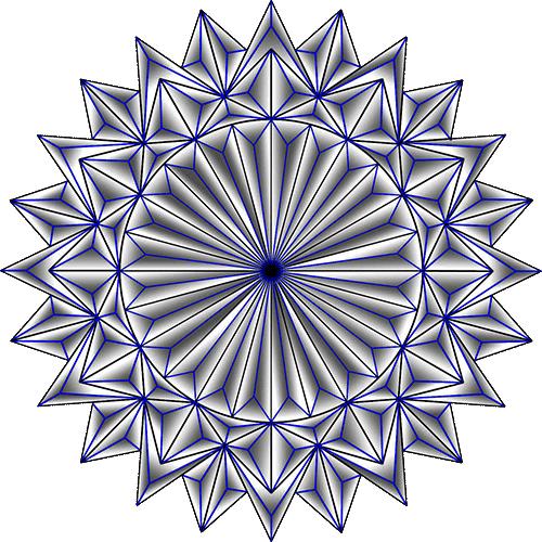 Rosette Chip Carving Pattern 39 #Advanced Beginner Carver