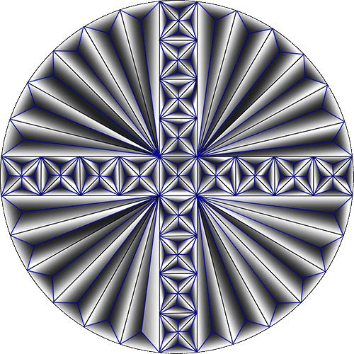 Rosette Chip Carving Pattern 11 #Advanced Beginner Carver
