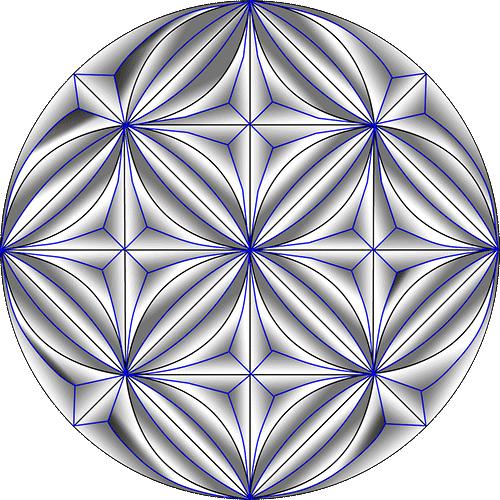 Rosette Chip Carving Pattern 3 #Middle Beginner Carver