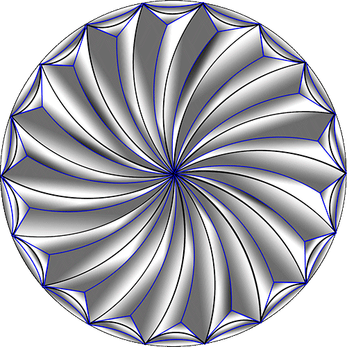 Rosette Chip Carving Pattern 4 #Junior Carver