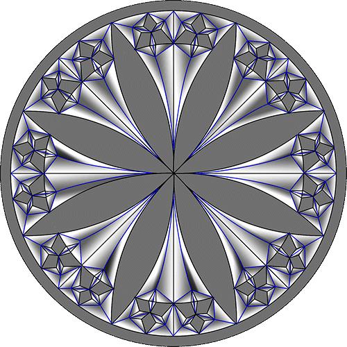 Rosette Chip Carving Pattern 22 #Middle Beginner Carver