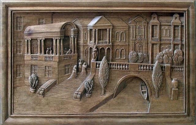 "Wenecja - projekt rzeźby płaskorzeźbionej Author - <a href=""https://vk.com/id161607080"" rel=""nofollow"">Evgeny G. Userdnov</a>"
