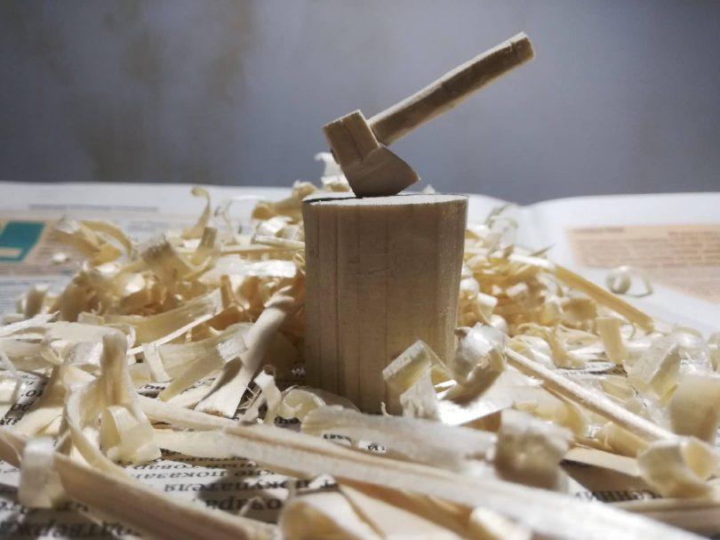 """Mini pomysł na rzeźbienie w drewnie Author - <a href=""""https://vk.com/pukich_chipuk"""" rel=""""nofollow"""">Dmitry Chertykhin</a>"""