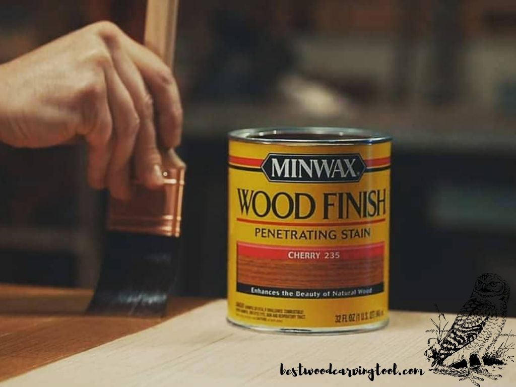 staining wood carving projects