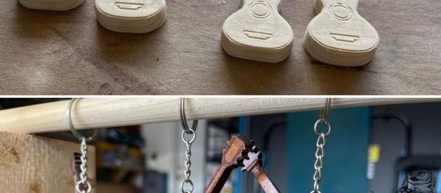 Finishing wood carving projects