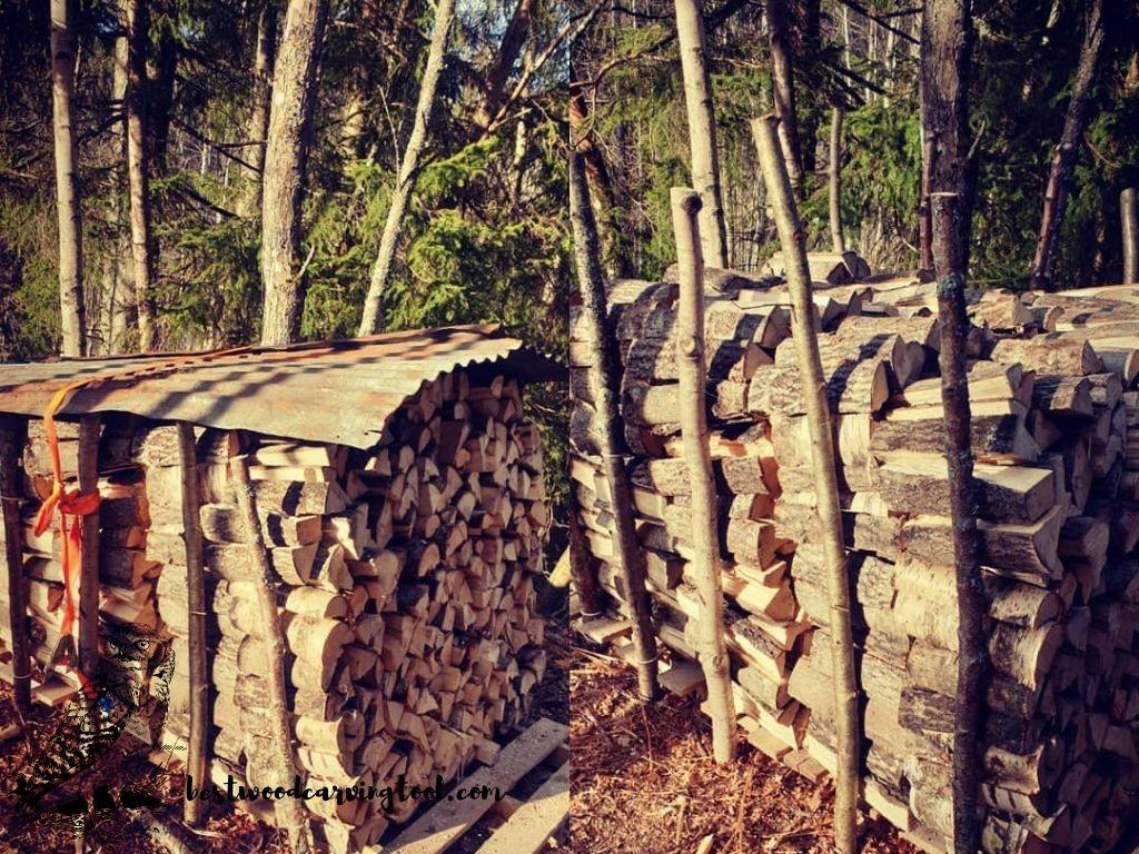 air drying wood