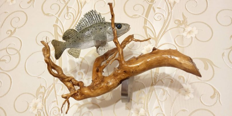"Wood Carving Fish Author - <a href=""https://vk.com/po_derevu_rezba"" rel=""nofollow"">Po Derevu Rezba</a>"