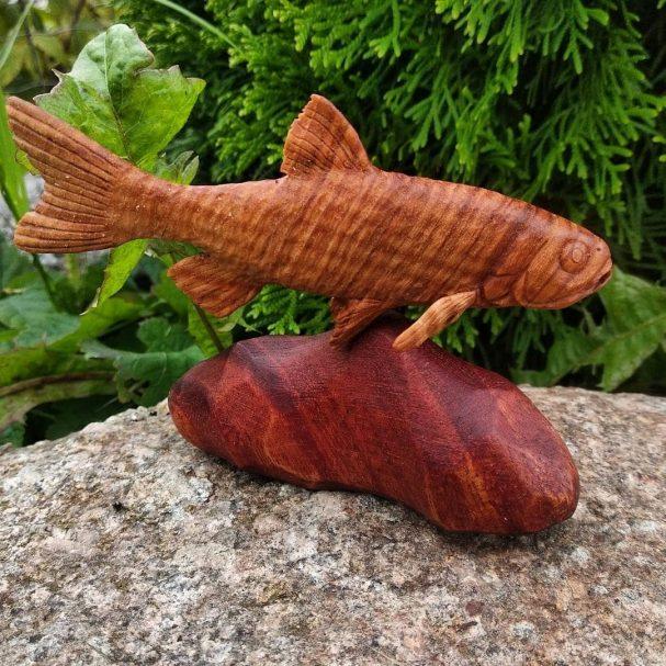 "Wooden Statue ""Chub"" Author - <a href=""https://www.instagram.com/vitalii.klg39/"" rel=""nofollow"">Vitaly</a>"