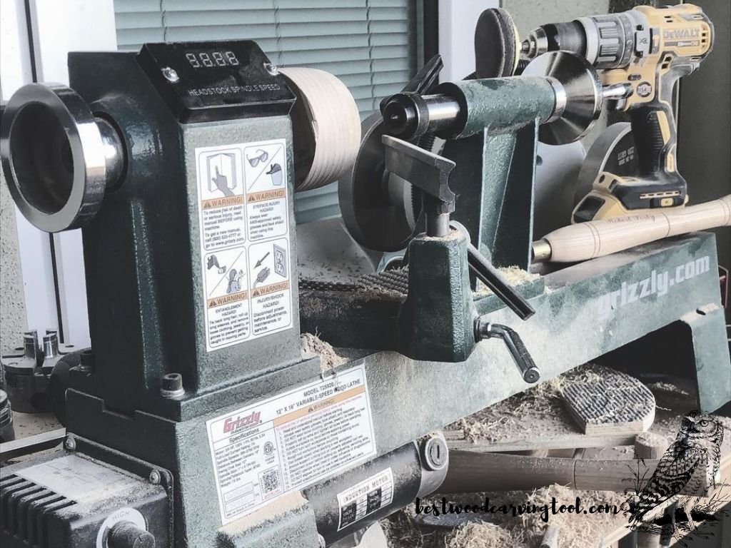 Grizzly Industrial T25920 lathe